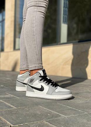 Nike air jordan 1 кроссовки