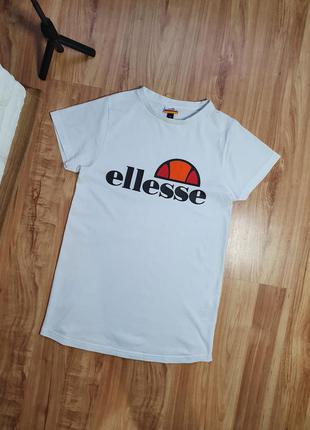 Женская футболка ellesse белая размер 8 (s/m)