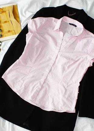 Рубашка в полоску m&s collection