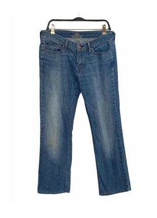 Синие стрейч джинсы levis