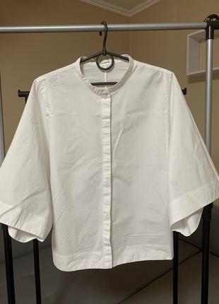 Рубашка белая cos
