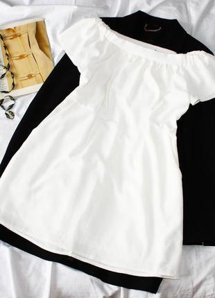 Платье с плеч свободного кроя boohoo