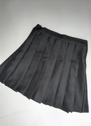 Плиссированная теннисная юбка