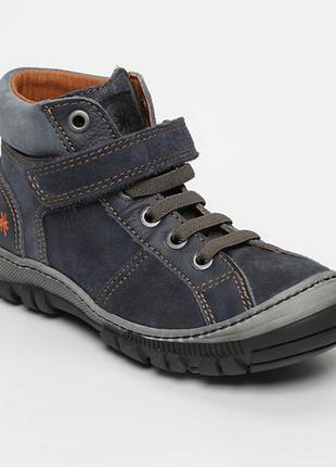 Art ботинки новые 29 р замш,кожа,как chicco,ecco...