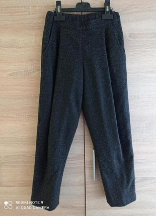 Крутые модные теплые брюки на подкладке