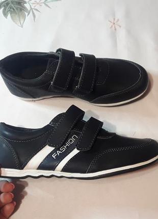 Кроссовки туфли чёрные кросівки кеды черевики