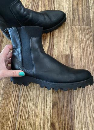 Ботинки кожа 37 р италия