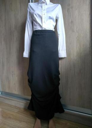 Ischiko шерстяная дизайнерская юбка