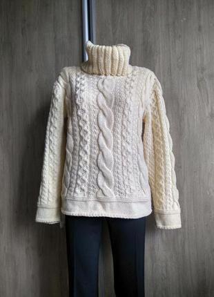 Highland home industries роскошный шерстяной свитер