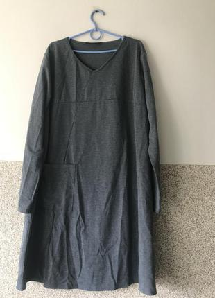 Красивое платье батал 5хл