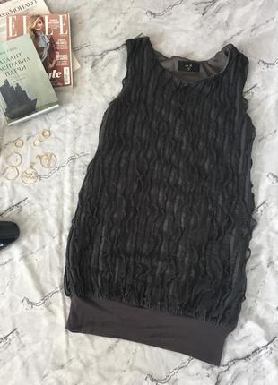 Платье с полосами от ax paris