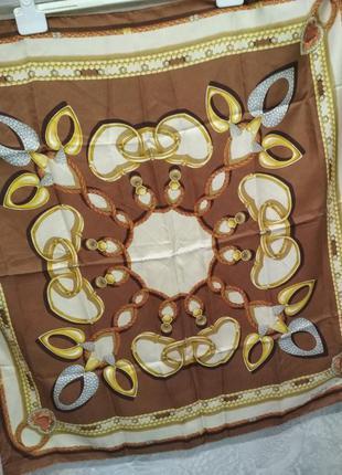 Винтажный шелковый платок  piaget