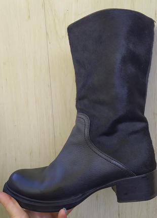 Женские кожанные деми ботинки