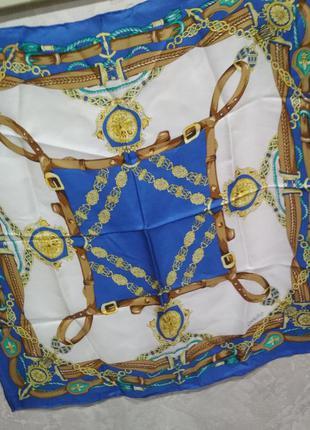 Небольшой шелковый платок codello, брендовый