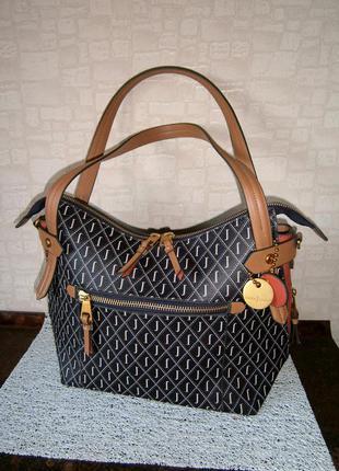 Красивая. стильная. большая повседневная сумка. jasper konran