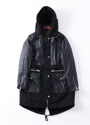 Куртка парка с мехом внутри