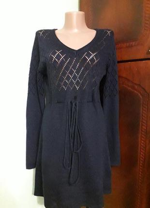 Ажурное платье туника