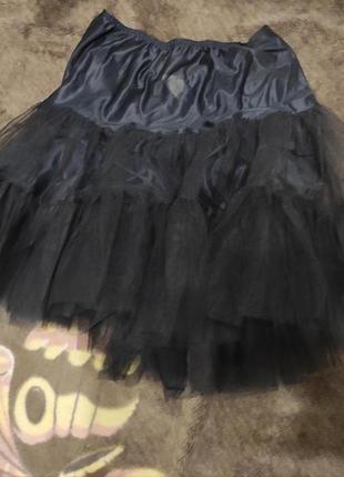 Юбка подюбник черный размер 46-48