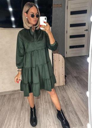 Платье вильвет