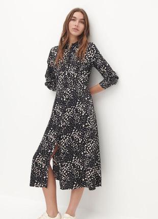 Сукня з віскози з візерунком