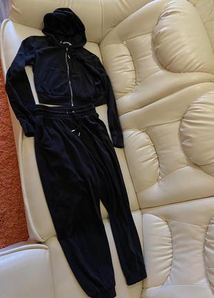 Велюровый костюм тёплый
