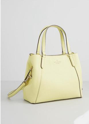 Желтая сумка kate spade new york