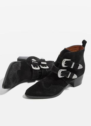 Ботинки козаки top shop