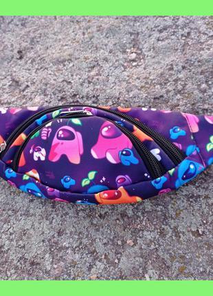 Детская сумка бананка, сумка через плечо, сумка для телефона.