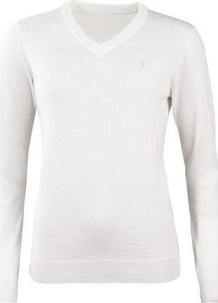 Шикарний пуловер, светр, тонка в'язка. 50% шерсть мериноса