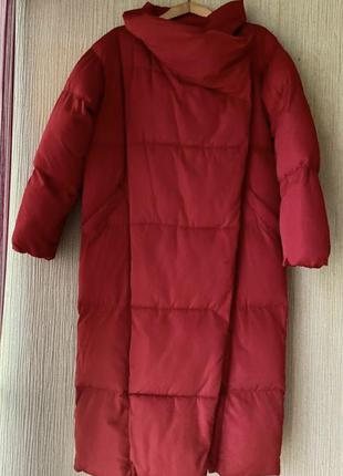 Пуховик пальто куртка mango