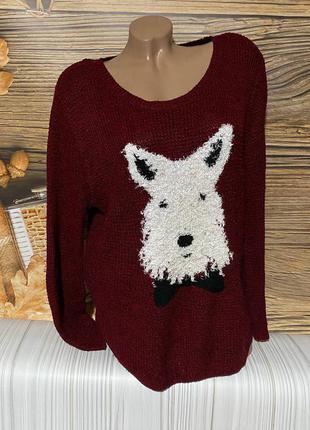 Тёпленький мягусенький свитерок размер 50