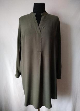 Платье - рубашка от h&m / модель оверсайз