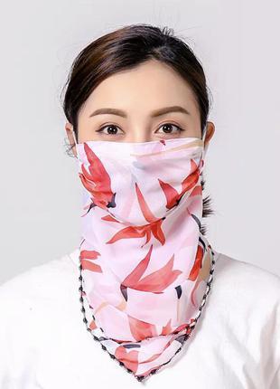 Маска -  платок для лица, платочек