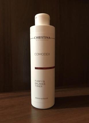 Christina comodex purifying toner - тоник для жирной и проблемной кожи