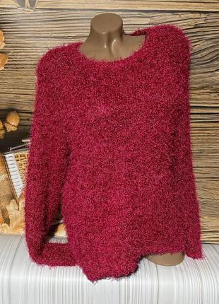Тёпленький мягусенький свитерок травка размер 48