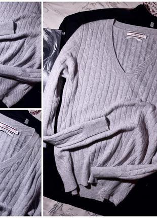 Нежный пуловер 100% кашемир paul kehl (s) не ношенный