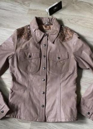 Куртка goosecraft p m-s новая оригинал кожа