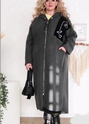 Длинное лёгкое пальто без подкладки
