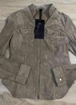 Куртка  натуральная замша goosecraft p s-m  новая оригинал