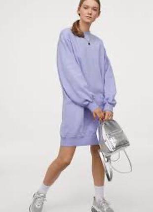 Оверсайз платье, туника h&m (zara), размер xs/s