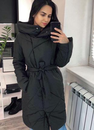 Женская тёплая зимняя куртка