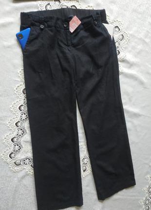 Натуральные штаны свободного кроя