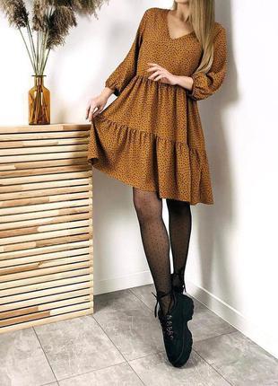 Платье primark свободное платье в горошек