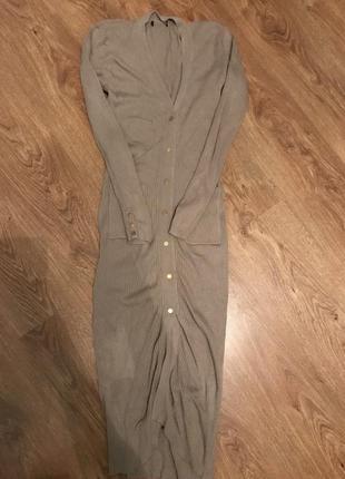 Стильное классное платье миди h&m