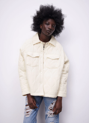 Стёганная куртка zara