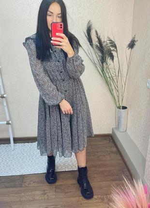 Платье рубашка италия миди сукня плаття міді imperial