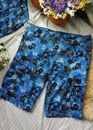 Плотные хлопковые крутые шорты