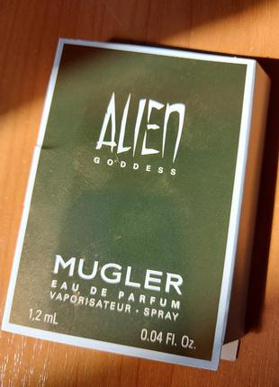 Парфюм mugler alien goddess (пробник, оригинал)