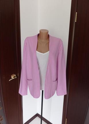 Красивый пиджак/жакет большой размер от m&s 16-18рр.