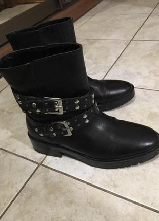 Ботинки, сапоги, сапожки zara mango massimo dutti